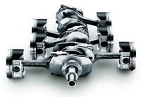 Subaru (Субару) EJ25 (DOHC): фото двигателя.